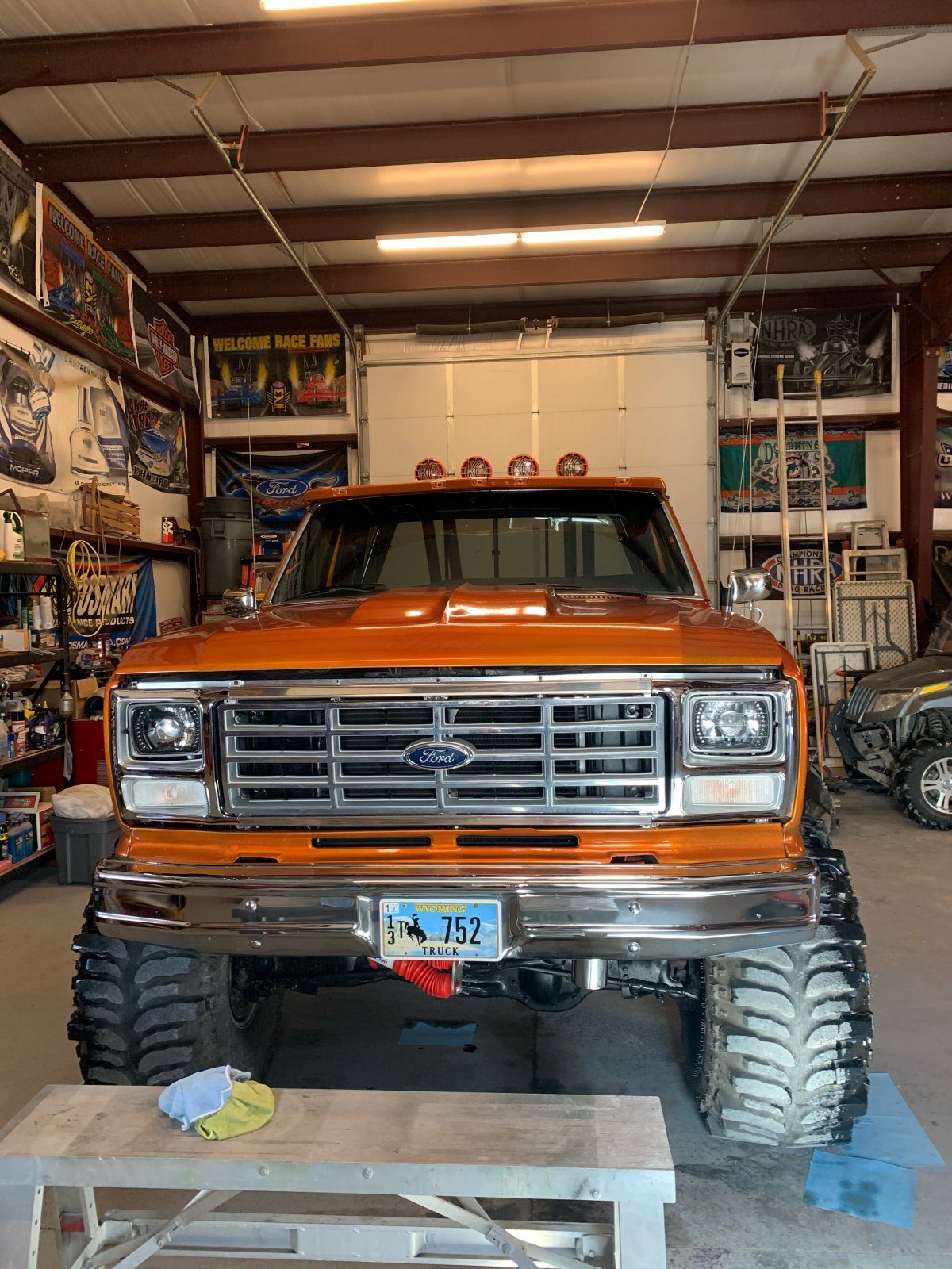 1982 Ford F150 460 Under The Hood On Boggers 2.jpeg