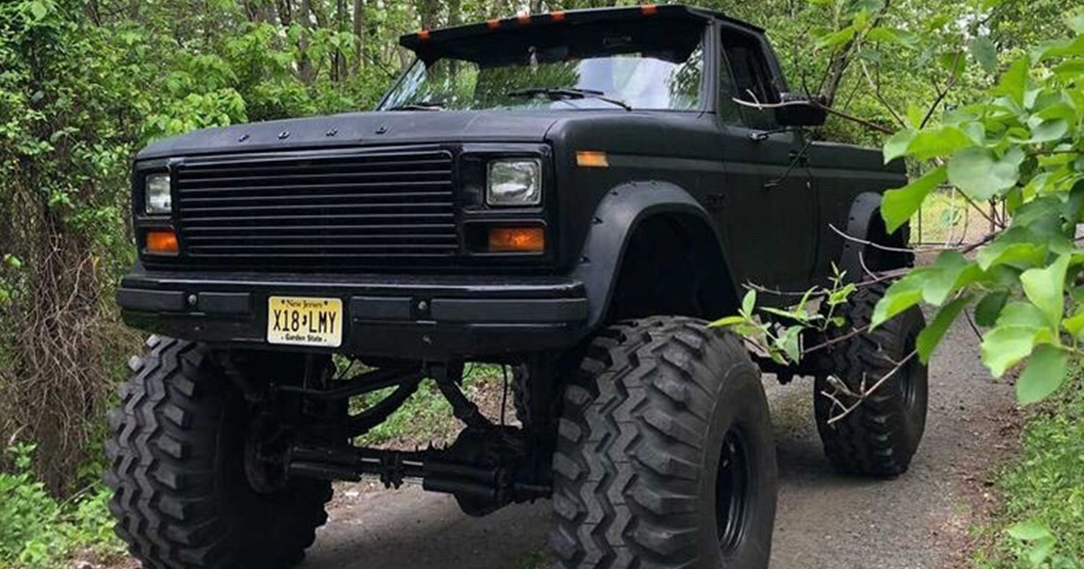 "1986 Frankenstein F150 With a 12"" Lift and 44"" Tires.jpg"