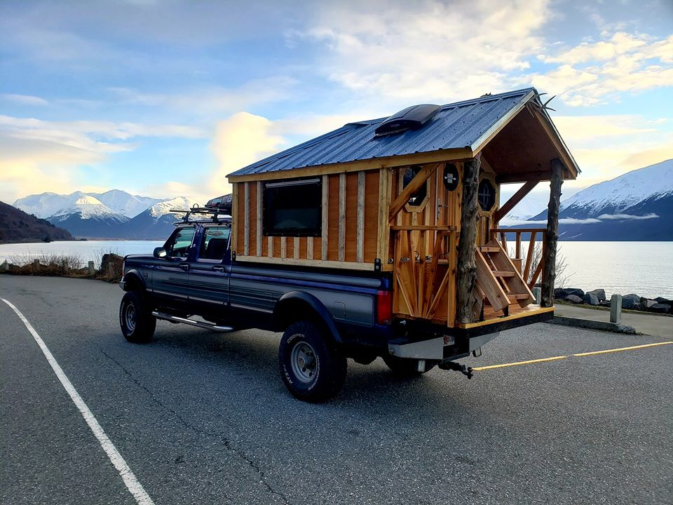 1996 Ford F350 7.3L Powerstroke With a Custom Cabin In The Bed 10.jpg