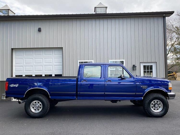 1997 F-350 Crew Long Bed XLT 4x4 7.3L Powerstroke 3 FordDaily.net