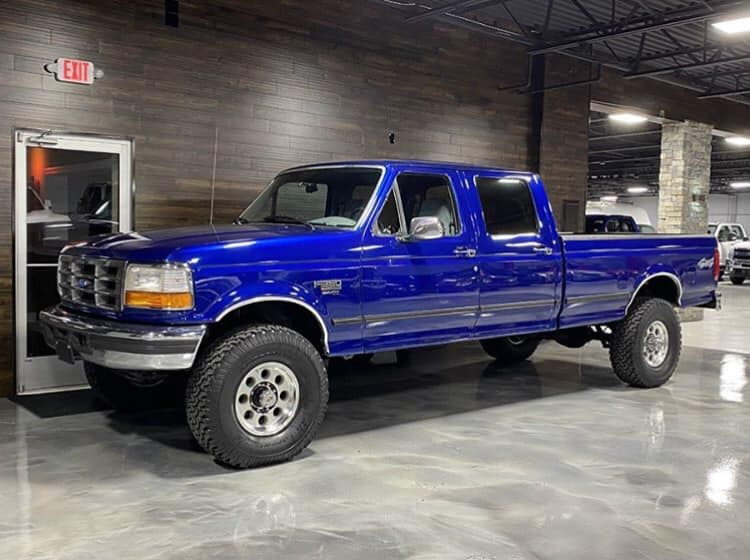 1997 F-350 Crew Long Bed XLT 4x4 7.3L Powerstroke 5 FordDaily.net