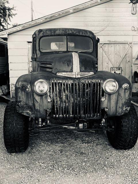 Birth Of a Heathen 1946 Ford Pickup Truck 3.jpg