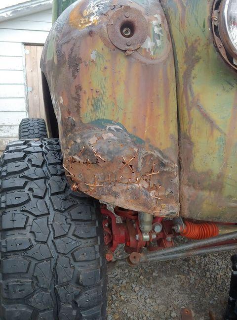 Birth Of a Heathen 1946 Ford Pickup Truck 4.jpg