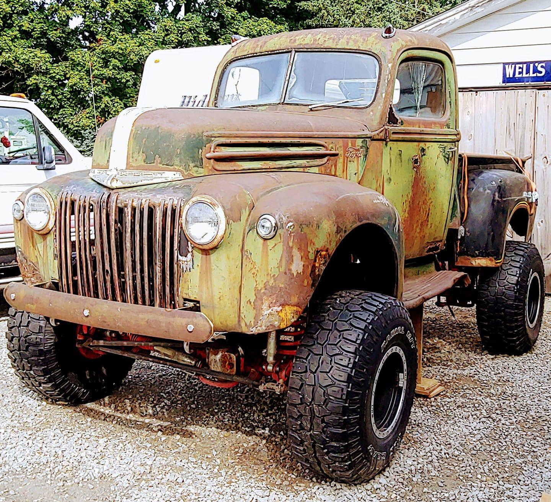 Birth Of a Heathen 1946 Ford Pickup Truck 8.jpg