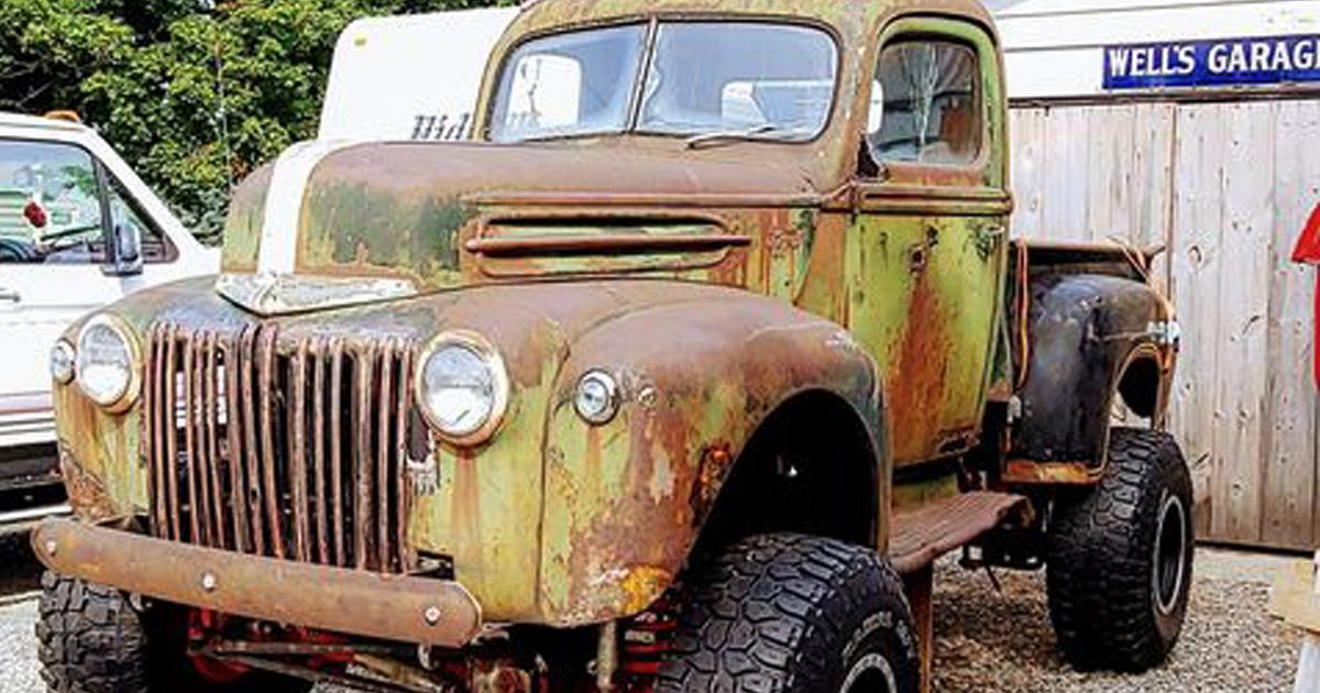 Birth Of a Heathen 1946 Ford Pickup Truck.jpg