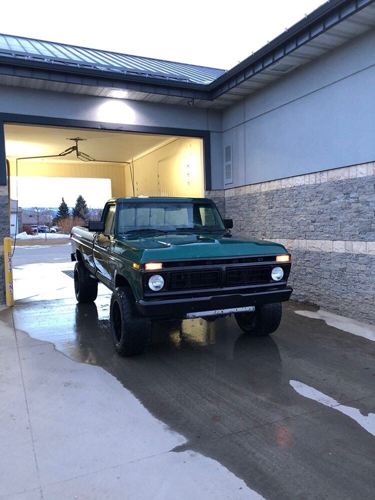 Forest Green 1977 Ford F-250  With a 351m 4x4 4.jpg