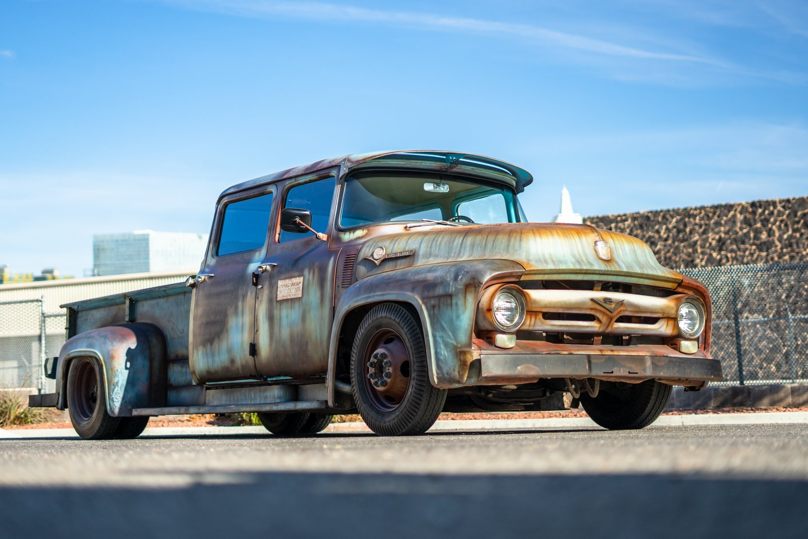 INCREDIBLE 1956 Ford F600 Ratrod Turned Out 1.JPG