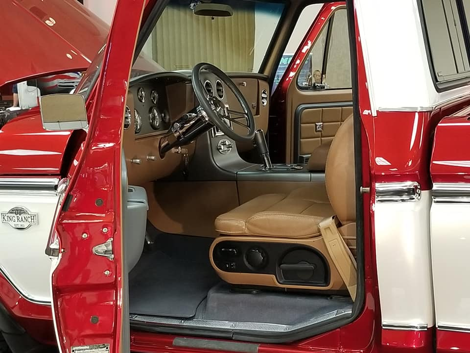 Old Ford Truck Lightning Powered With King Ranch Interior 2.jpg