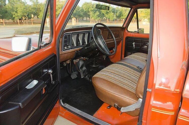 Orange 1978 Ford F-150 400M 4 Speed 4x4 3.jpg