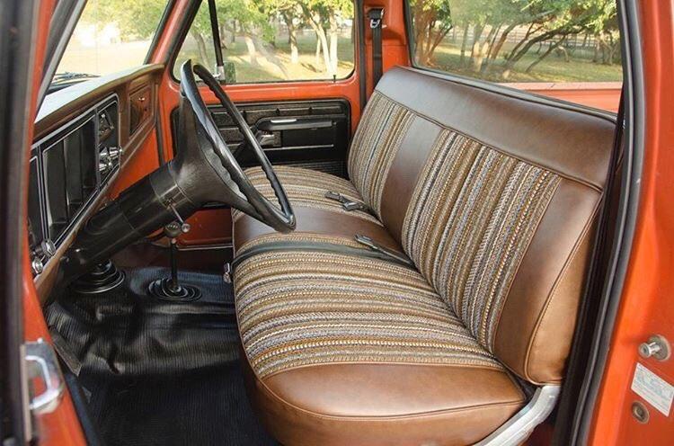 Orange 1978 Ford F-150 400M 4 Speed 4x4 4.jpg