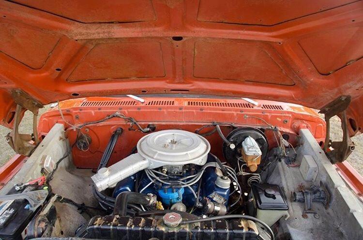 Orange 1978 Ford F-150 400M 4 Speed 4x4 5.jpg