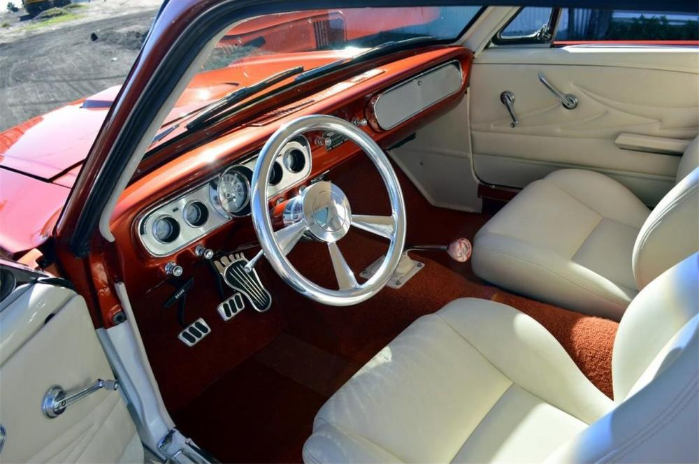 Orange And White 1966 Ford Mustang Fastback GT350 4.jpg