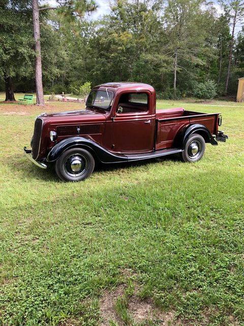 Son Surprises His Dad With 1937 Ford Pickup 12.jpg