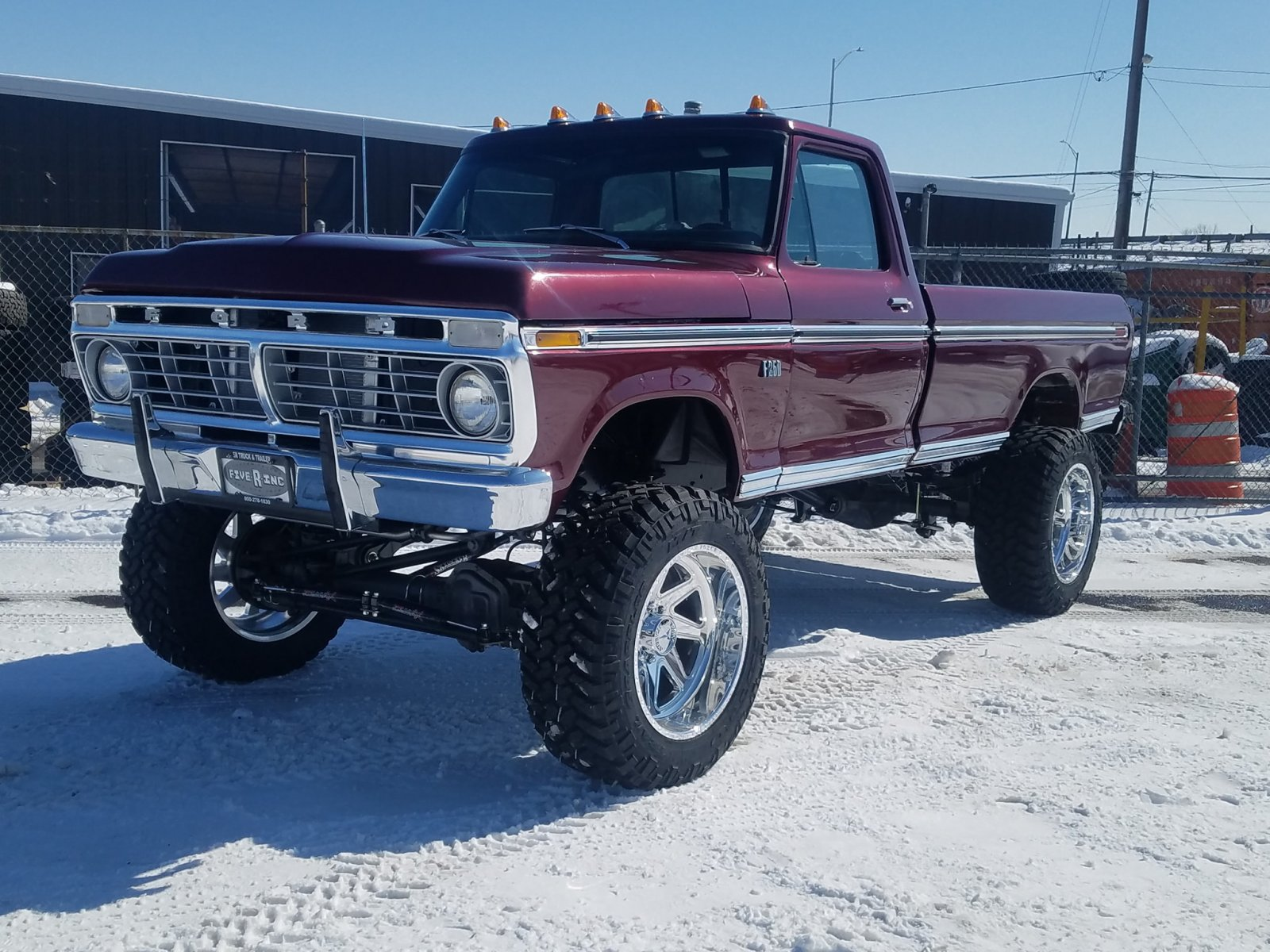 STOLEN! Gorgeous Ford Truck Has Been Stolen Out Of Shop In Golden Co 2.jpg