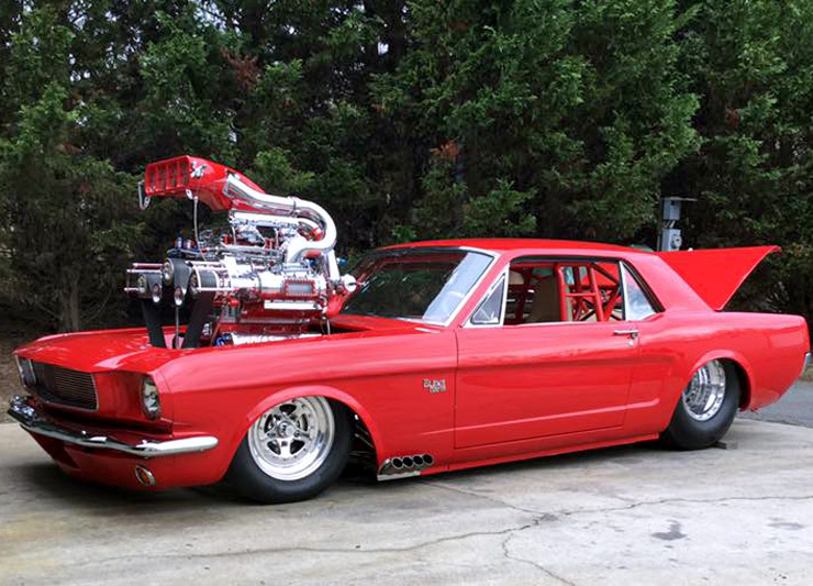 Triple-Supercharged 'Stang 1965 Mustang 7.0L 2.jpg