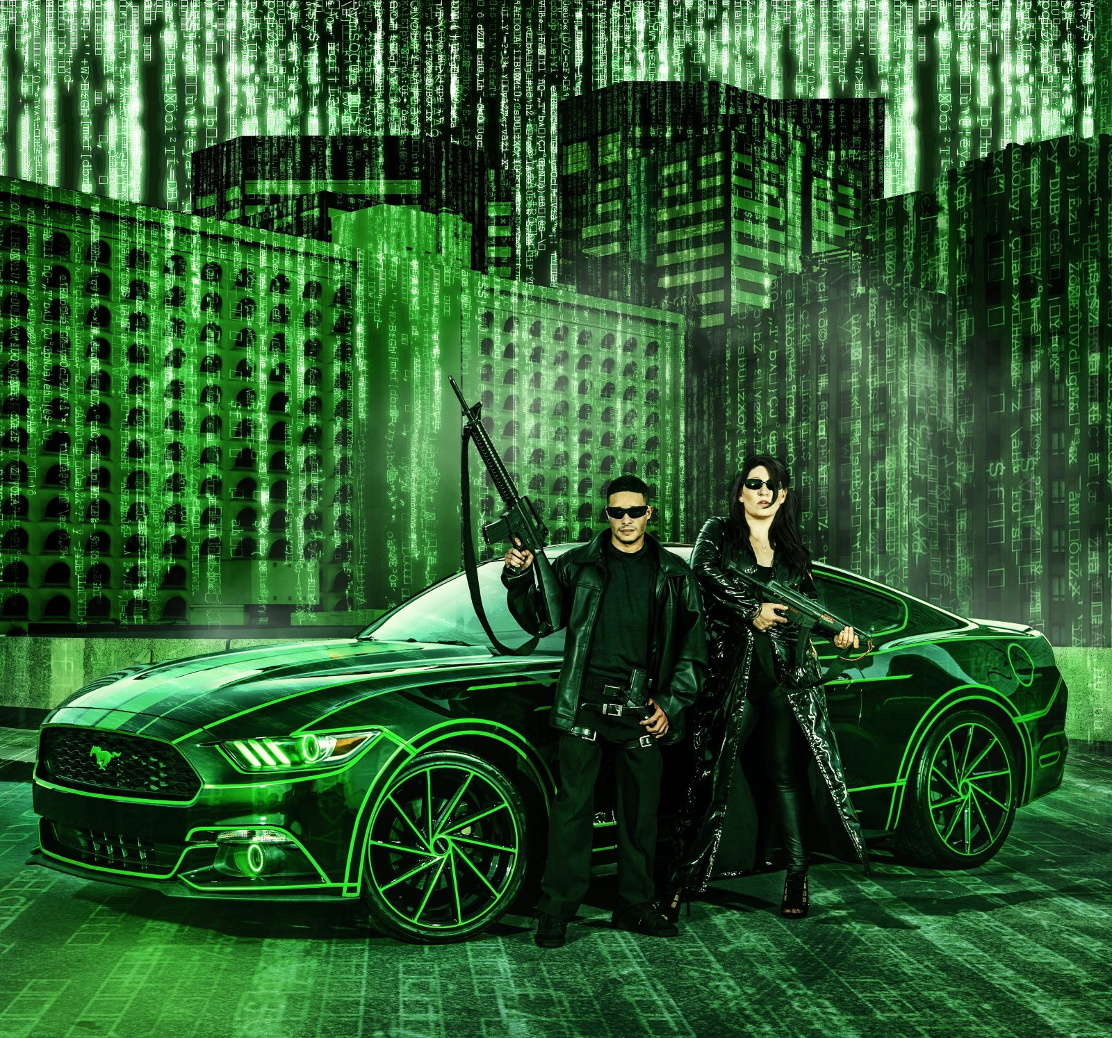 TRON Inspired Ford Mustang Story About Owner Josh Rivers   00.JPG