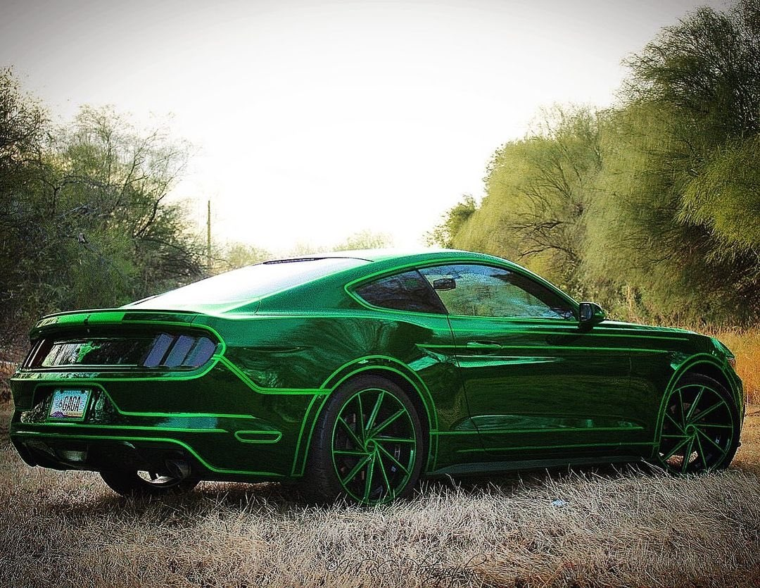 TRON Inspired Ford Mustang Story About Owner Josh Rivers  11.jpg