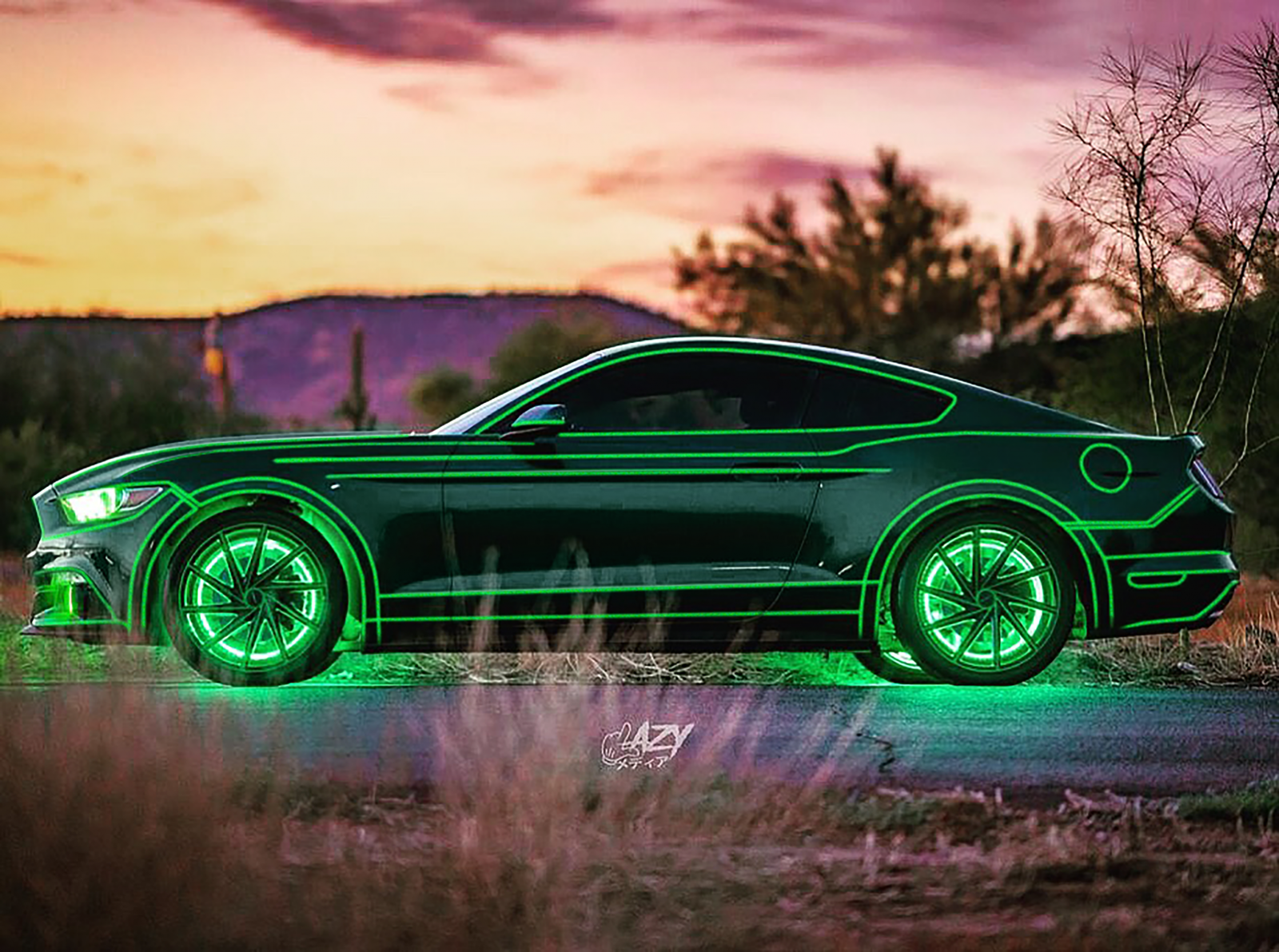 TRON Inspired Ford Mustang Story About Owner Josh Rivers  14.PNG