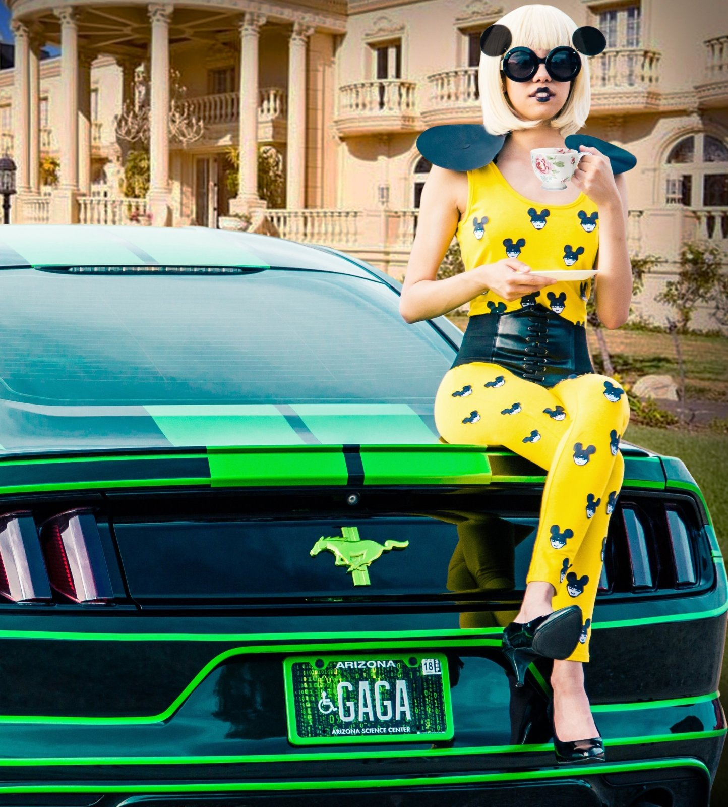 TRON Inspired Ford Mustang Story About Owner Josh Rivers  155.jpg