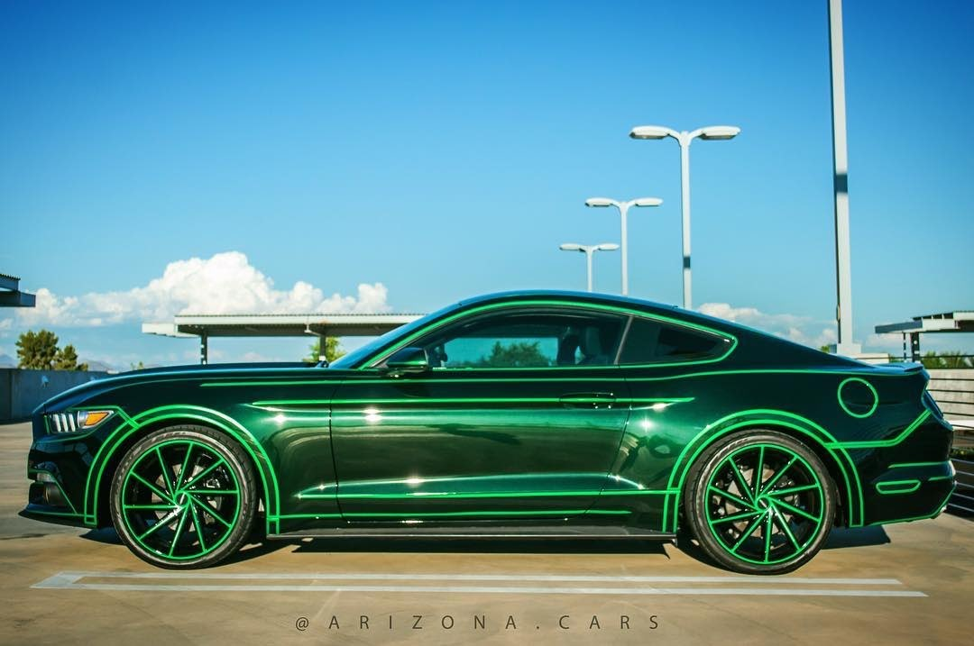 TRON Inspired Ford Mustang Story About Owner Josh Rivers  2.jpg