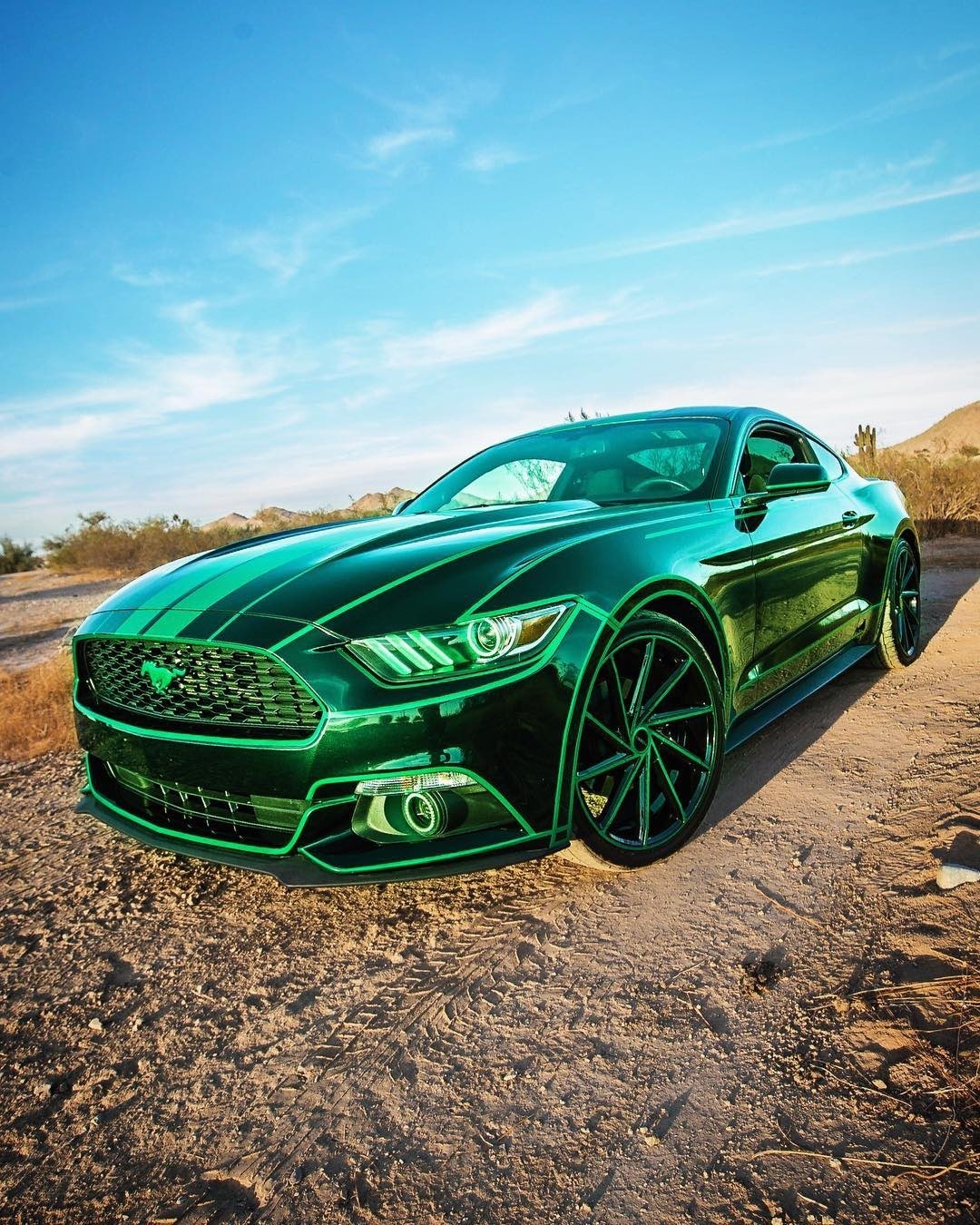 TRON Inspired Ford Mustang Story About Owner Josh Rivers  3.jpg