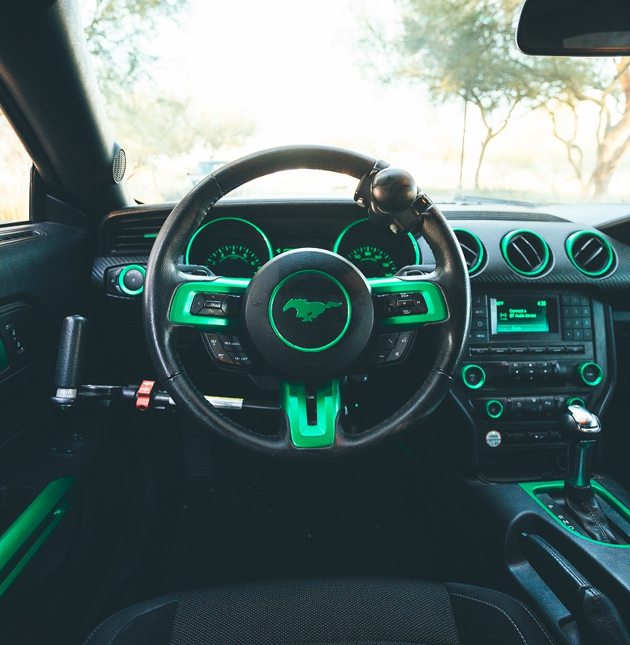 TRON Inspired Ford Mustang Story About Owner Josh Rivers  5.jpg
