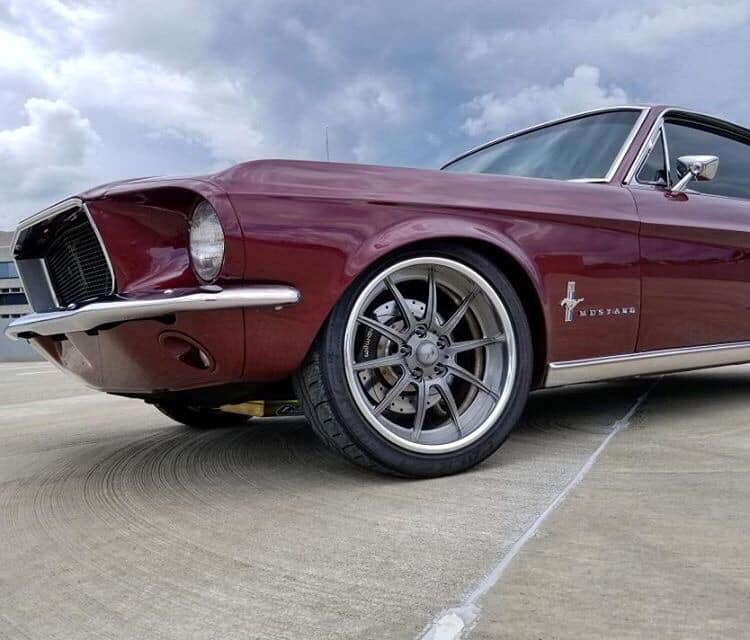 Vintage Burgundy 1967 Ford Mustang Fastback 347 Stroker www.FordDaily.net 6