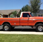 1975 F-250 Highboy Running 542 Big Block International Orange 7.jpg