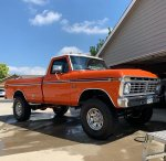 1975 F-250 Highboy Running 542 Big Block International Orange 1.jpg