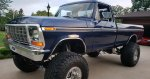 1978 F-250 With A 460 9-inch Lift With Mickey Thompson Tires