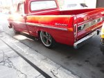 Red 1972 Ford F100 With a 302 Engine  3.jpg