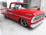 Red 1972 Ford F100 With a 302 Engine  4.jpg