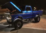 Blue 1979 Ford F-150 4x4 On Super Swampers 3.jpg