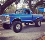 Blue 1979 Ford F-150 4x4 On Super Swampers 6.jpg