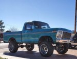 1977 F150 Short Bed 4x4 With a 460 2.jpg