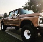 1974 Ford F-250 Crew Cab 4x4 Sequoia Brown  7.jpg
