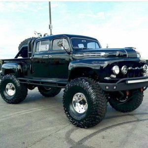 1951 Ford F-6 Custom Crew Cab 4x4